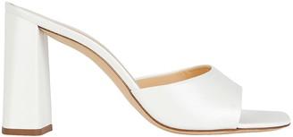 BY FAR Juju Leather Slide Sandals