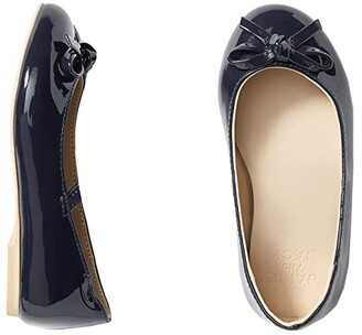Janie and Jack Classic Ballet Flats (Toddler/Little Kid/Big Kid) (Navy) Girl's Shoes