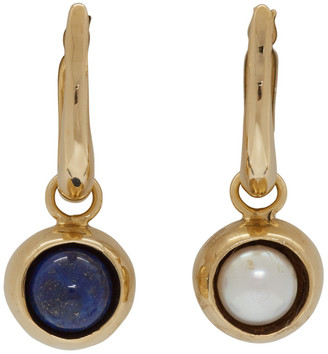 FARIS Gold Iris Hoop Earrings
