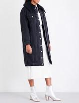 3.1 Phillip Lim Sherpa-lined denim jacket