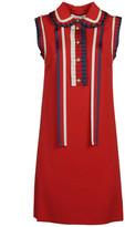 Gucci Sleeveless Ruffled Dress