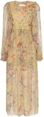 Zimmermann Melody wrap maxi dress
