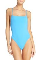 Mara Hoffman Women's High Cut One-Piece Swimsuit