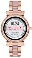 Michael Kors Sofie Rose-Goldtone Touchscreen Bracelet Smartwatch