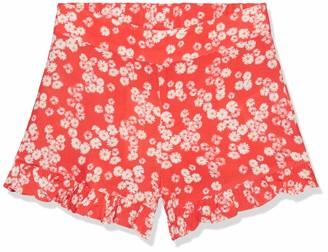 Koton Girl's Print Shorts mit Ruschen Casual
