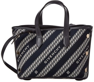 Givenchy Bond Mini Canvas & Leather Tote