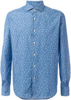 Xacus floral print shirt - men - Cotton - 38