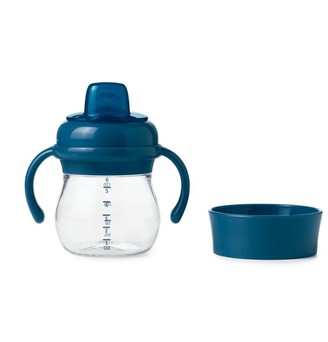 OXO Transitions Soft Spout Sippy Cup Set Navy
