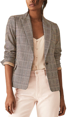 Reiss Connie Check Jacket