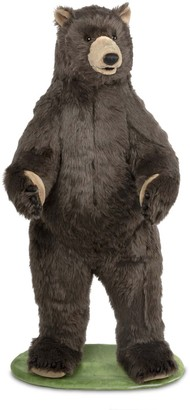 Melissa & Doug Giant Lifelike Plush Grizzly Bear