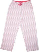 Hanes Women's Striped Cotton Pajama Lounge Pants
