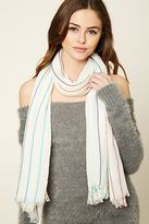 Forever 21 Rainbow Stripe Scarf