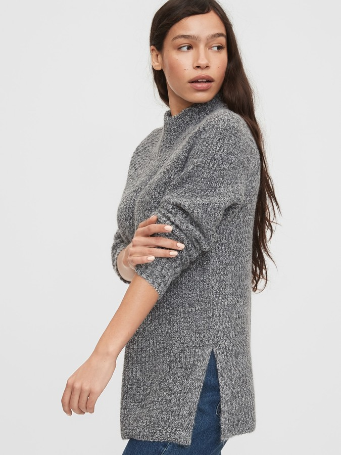 Gap Mockneck Tunic Sweater