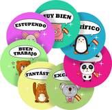 Graphic Flavour Charming Pets Spanish Lessons Reward Sticker Labels