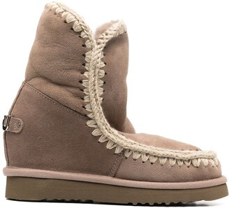 Mou Wedge Short Boots