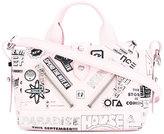 Kenzo Kalifornia flyers print shoulder bag