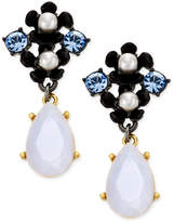Kate Spade Pretty Petals Imitation Pearl Flower Drop Earrings