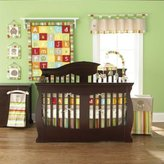 Pem America A-Z Reversible 4 Piece Baby Crib Bedding Set by Too Good by Jenny