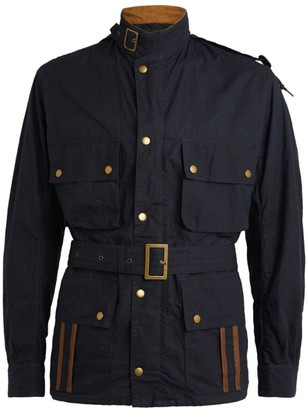 Barbour Waxed Cotton Ursula Belted Jacket