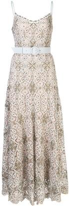 Jonathan Simkhai Savannah embroidered midi dress