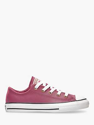 Converse Children's Chuck Taylor All Star Mission Warmth Ox Trainers, Pink