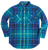 Chaps Plaid Flannel Work Shirt