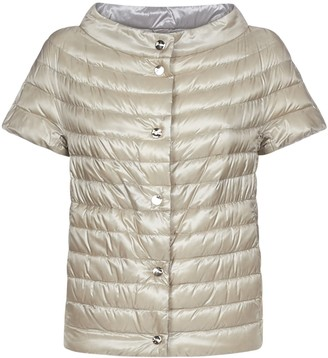 Herno Reversible Short Sleeve Jacket