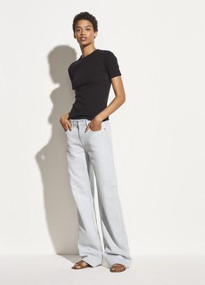Vince Exclusive / Drape Wide Leg Jean