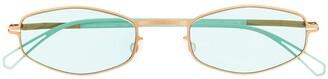 Mykita x Bernhard Willhelm oval-frame sunglasses