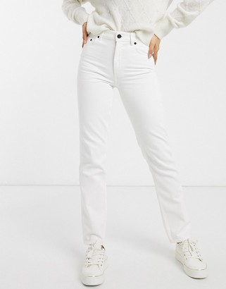 French Connection high waist straight leg jean