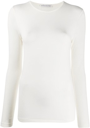 Stefano Mortari long-sleeved fitted T-shirt