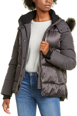 Nine West Short Hooded Jacket