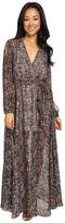 Brigitte Bailey Maelys Cold Shoulder Maxi Dress