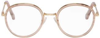 Chloé Pink Round Glasses