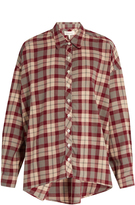 The Great The Big cotton-flannel shirt
