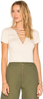 Alexander Wang Lace Up Top
