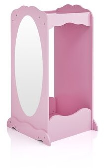 Harriet Bee Syed Wood Cubby Finish: Pink
