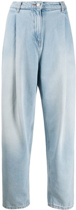 Magda Butrym Tapered Pleat Jeans