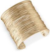 Rachel Roy Gold-Tone Wire Cuff Bracelet