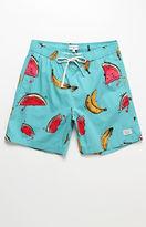 "Modern Amusement Fruit Party 17"" Swim Trunks"