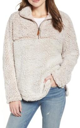 Thread and Supply Colorblock Wubby Fleece Pullover