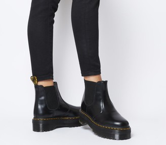 Dr. Martens 2976 Quad Chelsea Boots Black Leather