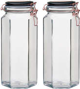 Global Amici Extra Large Copper Hermetic Preserving Canister - Set of Two
