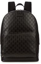 Gucci Signature Leather Backpack