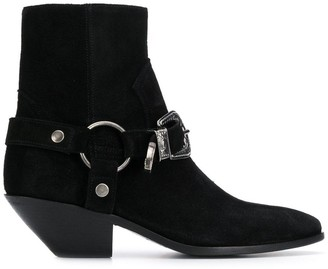 Saint Laurent Campero Buckle Boots