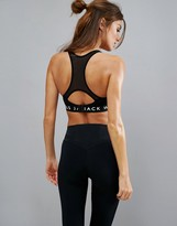 Jack Wills Sports Bra with Mesh Racer Back
