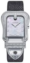 B. Fendi Stainless Steel & Diamond Buckle Shaped Timepiece, 33mm