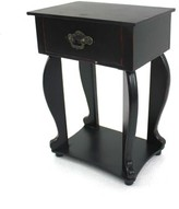 Deemston Solid Wood End Table with Storage Charlton Home