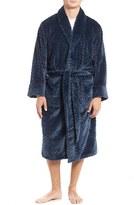 Daniel Buchler Men's Herringbone Plush Robe