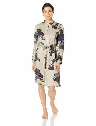 Hanro Women's Lavea Long Sleeve Gown
